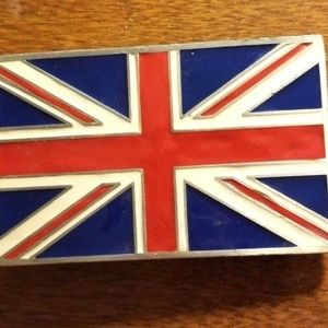 Other - British Flag Belt Buckle 4622 Fine Pewter